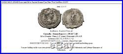 CARACALLA 206AD Rome mint Silver Ancient Roman Coin Mars War God Rare i52315