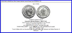 CARACALLA 216AD Rome Silver Genuine Authentic Ancient Roman Coin JUPITER i61499