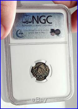 CLAUDIUS & AGRIPPINA Jr Ancient Roman Jerusalem ANTONIUS FELIX Coin NGC i70982