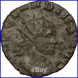 CLAUDIUS II 268AD Ancient Rare Roman Coin ANNONA Produce Prosperity i18191