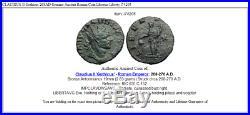 CLAUDIUS II Gothicus 268AD Genuine Ancient Roman Coin Libertas Liberty i74205