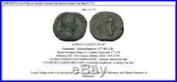 COMMODUS son of Marcus Aurelius Sestertius Big Ancient Roman Coin Altar i54378