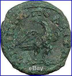 COMMODUS son of Marcus Philippopolis Aurelius Ancient Roman Coin EAGLE i22608