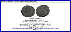 CONSTANS Constantine the Great son 337AD Ancient Roman Coin Phoenix i44293