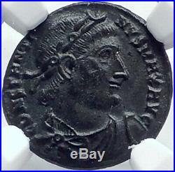CONSTANTINE I the GREAT Authentic Ancient 330AD Roman Coin w SOLDIERS NGC i81920