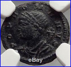 CONSTANTINE I the GREAT Milvian Bridge 330AD RARE Ancient Roman Coin NGC i66660
