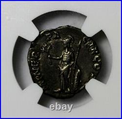 Clodius Albinus 195-197 AD AR Silver Denarius Ancient Roman Coin NGC CH VF