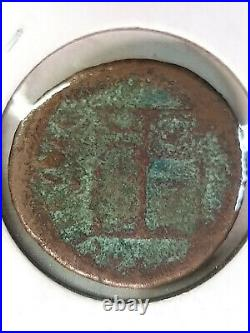 Coin Ancient Roman Empire 54-68 AD F Nero