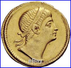 Crispus 325AD EXTREMELY RARE PEDIGREED Gold Solidus Authentic Ancient Roman Coin