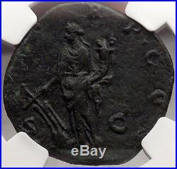 DIDIUS JULIANUS 193 AD NGC Certified Choice XF Authentic Ancient Roman Coin RARE