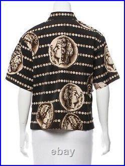 DOLCE & GABBANA Ancient Coin Print Top Size IT44