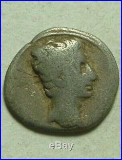 Details about Rare Original Ancient Roman silver Coin Augustus, Gaius & Lucius