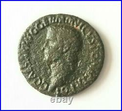 Emperor Caligula Ancient Roman Empire Coin with Certificate of Authenticity