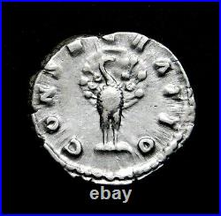 Faustina II Jr. Stunning Denarius. Wife of Marcus Aurelius. Roman Silver Coin