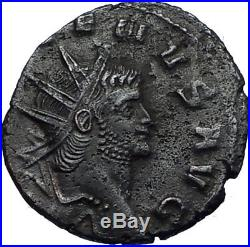 GALLIENUS 260AD Rome Authentic Ancient Roman Coin PEGASUS Flying Horse i66923