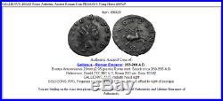 GALLIENUS 260AD Rome Authentic Ancient Roman Coin PEGASUS Flying Horse i66929