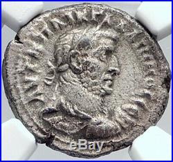 GALLIENUS Ancient 265AD Alexandria Egypt Tetradrachm Roman Coin NIKE NGC i81804