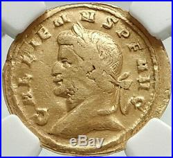 GALLIENUS Authentic Ancient 262AD Rome Aureus Genuine Gold Roman Coin NGC RARE