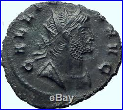 GALLIENUS Authentic Ancient 267AD Rome Genuine Original Roman Coin GOAT i41949