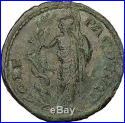 GORDIAN III 238AD ATHENA rape Serpent ERICHTHONIUS Ancient Roman Coin i17222