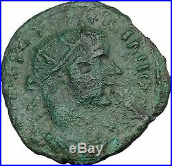 GORDIAN III 238AD Nicaea Bythinia Ancient Roman Coin Legionary STANDARDS i37426