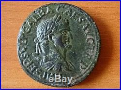 Galba 68-69 AD AE Sestertius LIBERTAS PVBLICA Rome mint Ancient Roman Coin