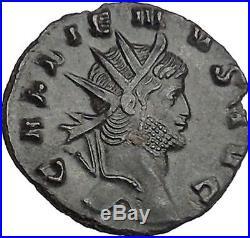 Gallienus son of Valerian I Ancient Roman Coin Pegasus winged Horse i42109
