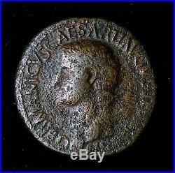 Germanicus 15 BC 19 AD Sestertius Bronze Ancient Roman Coin S C #AC046
