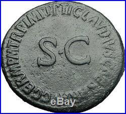 Germanicus Julius Caesar 37AD Struck under Claudius Ancient Roman Coin i58016