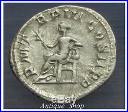 Gordian III Denarius PERFECT DETAILSVERY RARE Ancient Roman Silver Coin