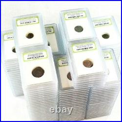Group Lot of 175 Slabbed Ancient Coins- Roman, Widows Mite Sized & Pirate