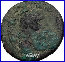 HADRIAN 118AD Jewish town of Tiberias Judaea Authentic Ancient Roman Coin i64127