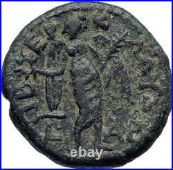 HADRIAN 119AD Tiberias Judaea Holy Jewish City Ancient Roman Coin i44736