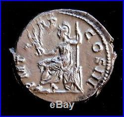 Hadrian. Exquisite Rare Denarius. Son of Trajan. Ancient Roman Silver Coin