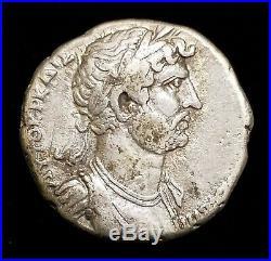 Hadrian Silver Tetradrachm Ancient Roman Coin 14.2 g Cilicia, Aegaea 2005 Hoard