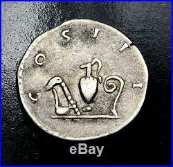 Hadrian. Stunning Denarius. Ancient Roman Silver Coin