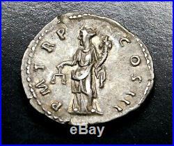 Hadrian. Stunning Denarius circa AD 119-122. Ancient Roman Silver Coin