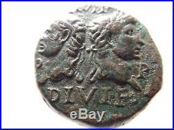 Higher Quality Ancient Roman Coin Augustus & Agrippa, Crocodile. 13.5 Grams