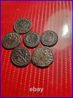 Hight quality lott of 6 nice and beautifull Roman coins