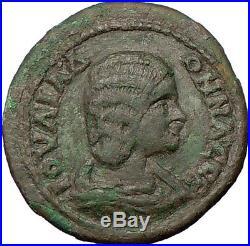 JULIA DOMNA 193AD Genuine Ancient Roman Coin THREE NUDE GRACES i9658 Large