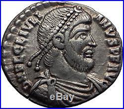 JULIAN II the APOSTATE 362AD Rare Silver Siliqua Ancient Roman Coin i60681