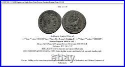 LICINIUS I 318AD Jupiter on Eagle Rare Trier Treveri Ancient Roman Coin i45108