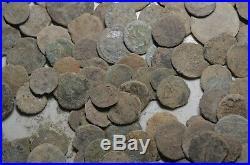 Lot 100 Ancient Roman Bronze Coins -1