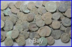 Lot 100 Ancient Roman Bronze Coins -2