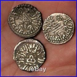 Lot 11 Ancient Roman Greek Indo Kushan Silver Coins Chersonesos Alexander Parion