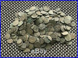 Lot 300 Ancient Roman Imperial And Provincial Uncleaned Bronze Coins Very Nice