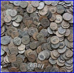 Lot Of 10 X Ancient Roman Imperial Follis Coins. 10 Coins Per Buy