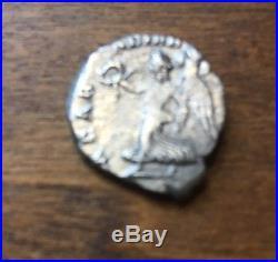 Lot Of 2 Ancient Roman Silver Coins. DenariusSeptimius Severus&Julia DomnaXF