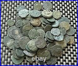 Lot Of 80 Ancient Roman / Greek / Byzantine Bronze Coins