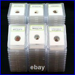 Lot of 100 Ancient Coins Roman, Widows Mite Sized & Pirate